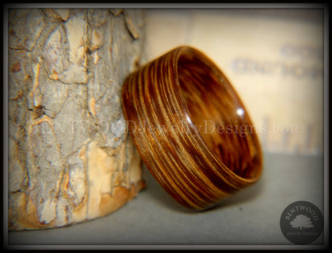 Bentwood Ring - Brazilian Brownheart Wood Ring