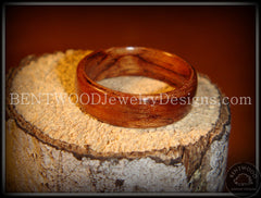 Bentwood Ring - Bubinga Wood Ring - Bentwood Jewelry Designs - Custom Handcrafted Bentwood Wood Rings  - 3