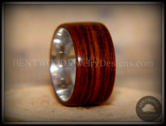 Bentwood Ring - Cocobolo Wood Ring with Surgical Grade Stainless Steel Comfort Fit Metal Core - Bentwood Jewelry Designs - Custom Handcrafted Bentwood Wood Rings  - 4