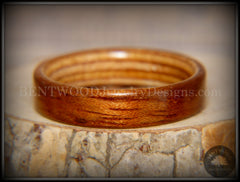 Bentwood Ring - Etimoe and Birch Boat Deck Ply Core