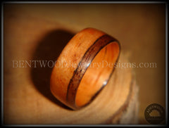 Bentwood Ring - Pau Ferro Wood - Santos Rosewood / Bolivian Rosewood Wooden Ring Classic Style handcrafted bentwood wooden rings wood wedding ring engagement