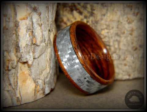rings wedding bentwood mens wood and walnut womens bands rosewood pin inlay engagement copper wooden