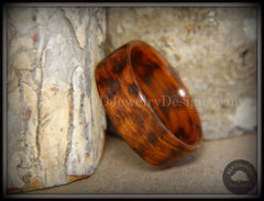 Bentwood Ring - Snakewood Classic Wood Ring   ------------  ***  Limited Supply  *** - Bentwood Jewelry Designs - Custom Handcrafted Bentwood Wood Rings  - 4