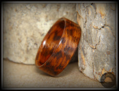 Bentwood Ring - Snakewood Classic Wood Ring   ------------  ***  Limited Supply  *** - Bentwood Jewelry Designs - Custom Handcrafted Bentwood Wood Rings  - 2