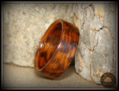 Bentwood Ring - Snakewood Classic Wood Ring   ------------  ***  Limited Supply  *** - Bentwood Jewelry Designs - Custom Handcrafted Bentwood Wood Rings  - 5