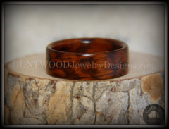 Bentwood Ring - Snakewood Classic Wood Ring   ------------  ***  Limited Supply  *** - Bentwood Jewelry Designs - Custom Handcrafted Bentwood Wood Rings