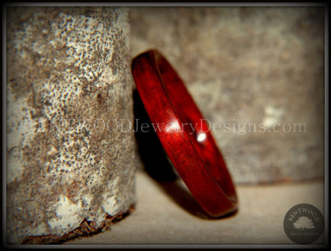 Bentwood Ring - Bloodwood Classic Wooden Ring