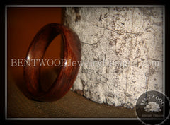 Bentwood Ring - Indian Rosewood Wood Ring - Bentwood Jewelry Designs - Custom Handcrafted Bentwood Wood Rings  - 3