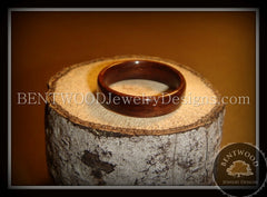 Bentwood Ring - Indian Rosewood Wood Ring - Bentwood Jewelry Designs - Custom Handcrafted Bentwood Wood Rings  - 4