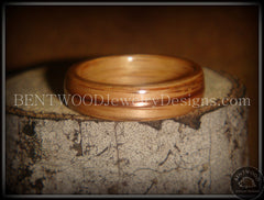 Bentwood Ring - Red Oak Wood Ring with Copper Inlay - Bentwood Jewelry Designs - Custom Handcrafted Bentwood Wood Rings  - 3