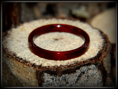 Bentwood Ring - Bloodwood Wooden Ring