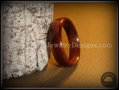 Bentwood Ring - Indian Rosewood Wood Ring - Bentwood Jewelry Designs - Custom Handcrafted Bentwood Wood Rings  - 5