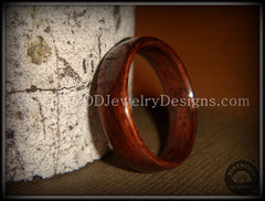 Bentwood Ring - Indian Rosewood Wood Ring - Bentwood Jewelry Designs - Custom Handcrafted Bentwood Wood Rings  - 1