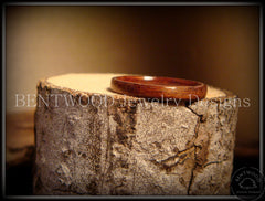 Bentwood Ring - Santos Rosewood Wood Ring Jewelry - Bentwood Jewelry Designs - Custom Handcrafted Bentwood Wood Rings  - 3