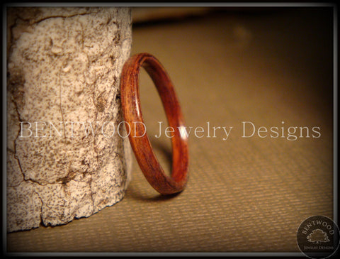 Bentwood Ring - Santos Rosewood Wood Ring Jewelry