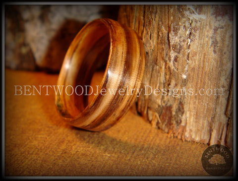 Bentwood Ring - Zebrawood Classic Wood Ring