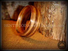 Bentwood Ring - Zebrawood Classic Wood Ring - Bentwood Jewelry Designs - Custom Handcrafted Bentwood Wood Rings