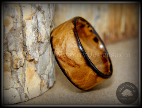"Bentwood Ring - ""Ole Smoky"" Olive Wood Ring Classic Style"