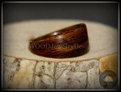 "Bentwood Ring - ""Wedge"" Rosewood Classic handcrafted bentwood wooden rings wood wedding ring engagement"