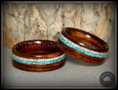 wood wedding rings