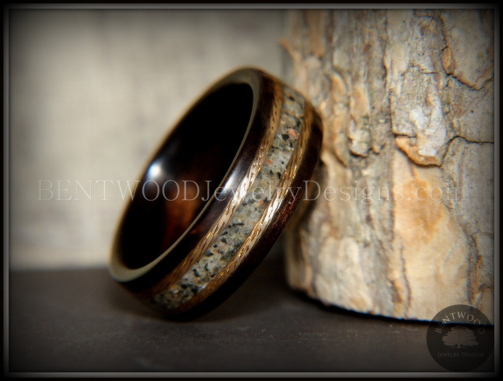 picture photo the with message beach on rings wedding and stock