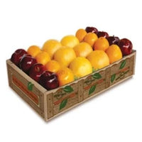 1 Fruit Tray Crisp Red Delicious Apples, sweet Navel Oranges, juicy Ruby Red Grapefruit mix