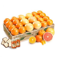 1 or 2 Fruit Trays - Navel Oranges, Tangerines, Ruby Red Grapefruit, two jars Marmalade, 8 oz. box Chocolate Coconut Patties
