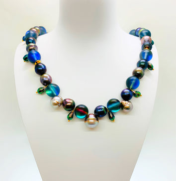 Collier Blue MOOREA