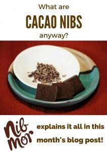 "What are NibMor ""cacao nibs"" anyway?!"