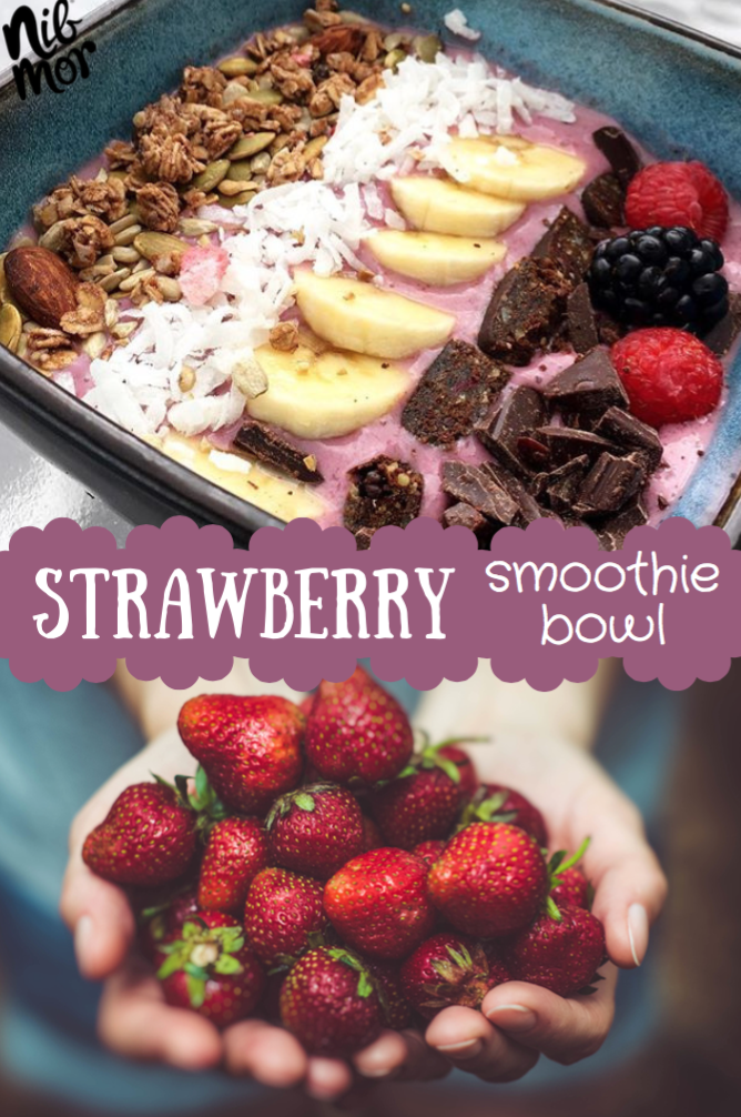 Strawberry Smoothie Bowl Recipe