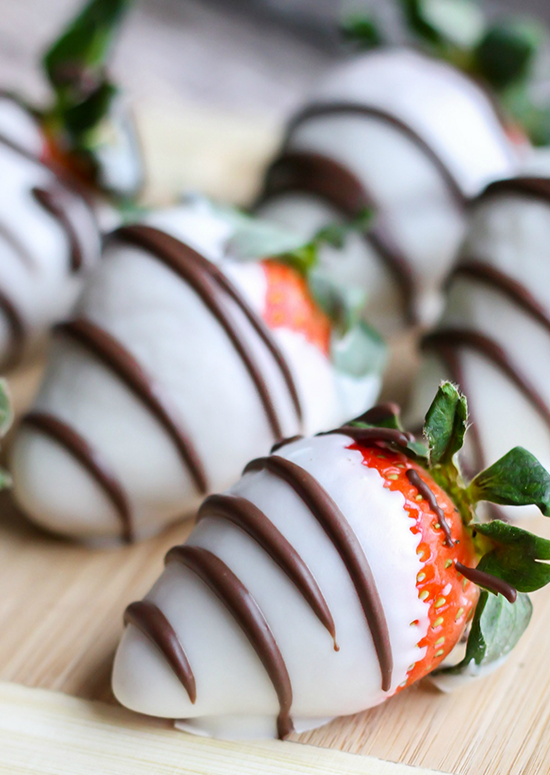 NibMor's Chocolate Covered Strawberries