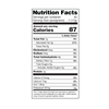 mint nutritional information