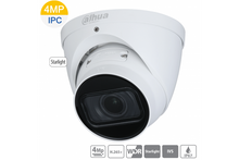 Load image into Gallery viewer, DAHUA 4CH 4MP IP MOTORISED TURRET BUNDLE KIT +2TB
