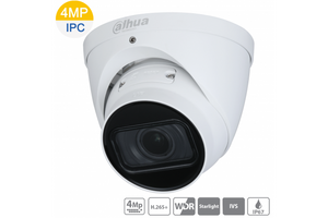 Dahua DH-IPC-HDW2431TP-ZS-S2 4MP Starlight IP Turret Motorized Camera 2.7~13.5mm - CCTVMasters.com.au