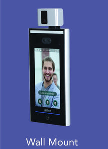 Dahua Face Recognition, Access Control & Temperature Monitoring Wall Mount Terminal - CCTVMasters.com.au