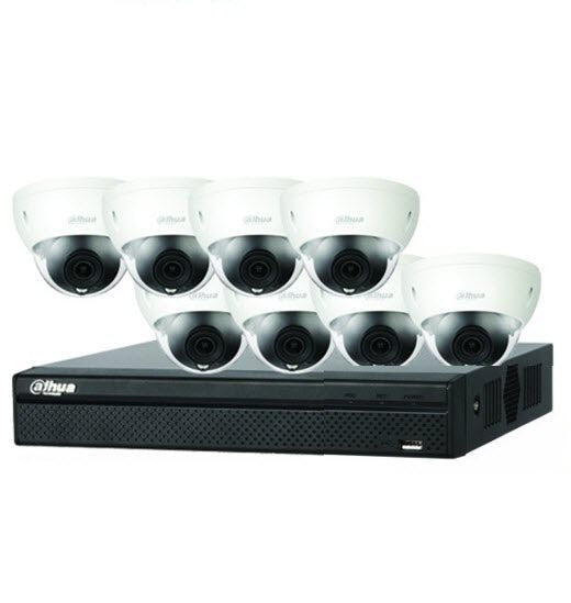 Dahua 8MP 16CH IP Dome Bundle Kit 3TB