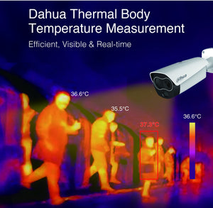 Dahua Human Body Thermal Temperature Monitoring Solution - CCTVMasters.com.au