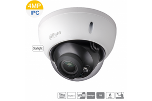 4MP DAHUA 4CH IP MOTORISED DOME BUNDLE KIT