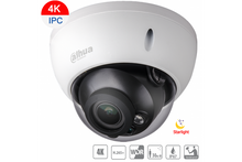 Load image into Gallery viewer, Dahua 8MP 4K IP Starlight Vandal Dome Fixed 2.8mm - CCTVMASTERS.COM.AU