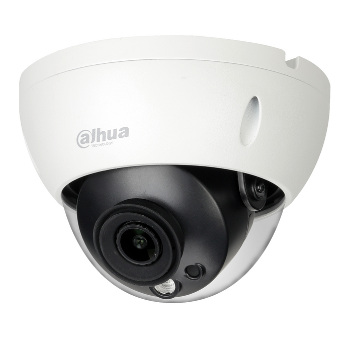 Dahua DH-IPC-HDBW5442RP-S-0280B Dahua AI 4MP Starlight + IP Vandal Dome Fixed 2.8mm PoE - CCTVMasters.com.au