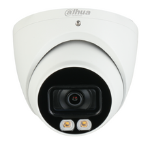 Load image into Gallery viewer, Dahua Smart AI 4MP Starlight + IP Turret White Light Camera, Fixed 2.8mm - CCTVMasters.com.au
