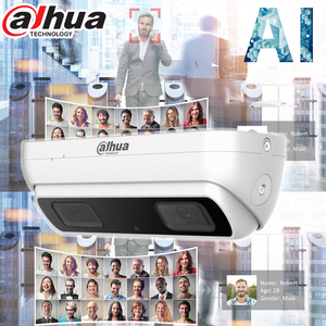 Dahua 3MP AI Starlight 3D Dual Lens People Counting IP Network Camera Fixed 2.8mm - CCTVMasters.com.au
