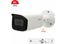 Load image into Gallery viewer, Dahua 8MP 4K Starlight IP Bullet Motorized 3.7~11mm, ICR,WDR,IR 60m,IP67,PoE