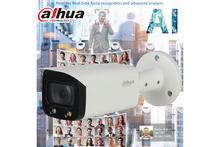 Load image into Gallery viewer, Dahua 4MP Smart AI Starlight+IP Bullet Fixed 2.8mm,White Light, PoE - CCTVMASTERS.COM.AU