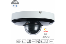 Load image into Gallery viewer, Dahua DH-SD1A203T-GN 2MP Starlight IP PTZ 3X 2.7mm~8.1mm VF lens Network Camera