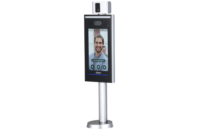 Dahua Face Recognition, Access Control & Temperature Monitoring Stand-alone Terminal - CCTVMasters.com.au