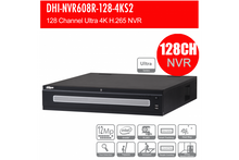 Load image into Gallery viewer, Dahua 128 Channel Ultra 4K H.265 Network Video Recorder - CCTVMasters.com.au