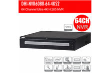 Load image into Gallery viewer, Dahua 64ch Ultra NVR 12MP, 2x HDMI 4K NO HDD - CCTVMASTERS.COM.AU
