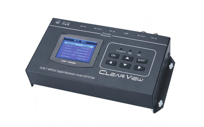New ClearView HD101SE HDMI Convertor to DVBT Modulator with HDMI Loop