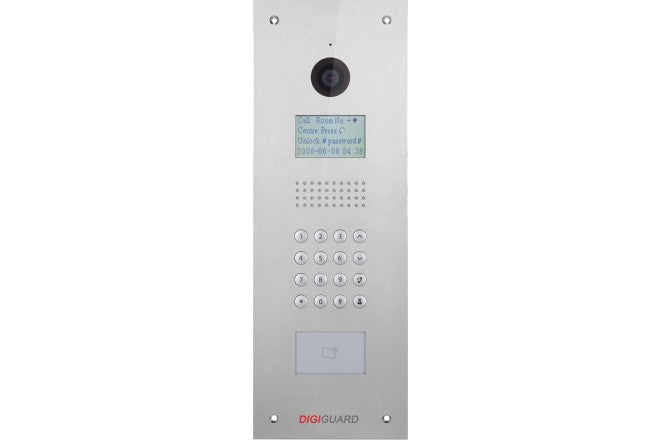 Dahua IP door station for apartment - CCTVMASTERS.COM.AU